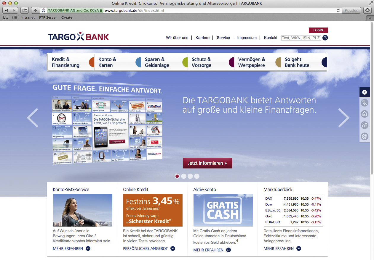 TARGOBANK Investment Advice