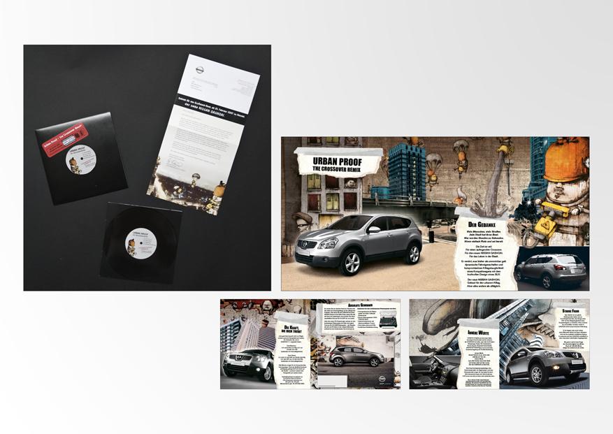 Nissan Qashqai Mailing • TBWA Düsseldorf