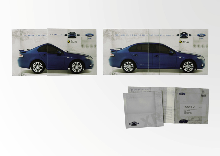 Ford Falcon Mailing • M&C Saatchi Sydney