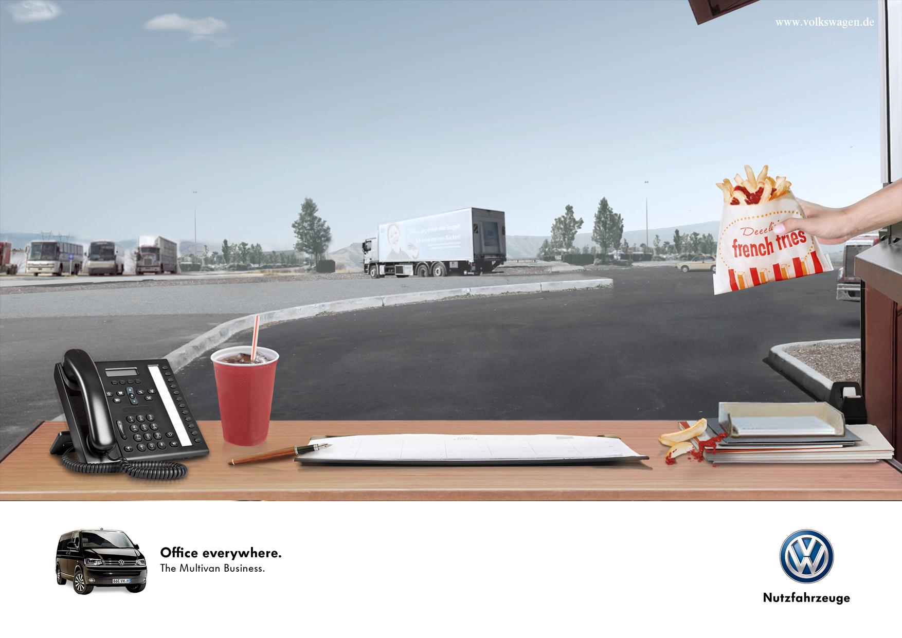 Print Campaign VW Multivan • Grabarz&Partner Hamburg
